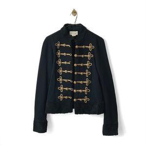 Denim & Supply Ralph Lauren Black Military Jacket